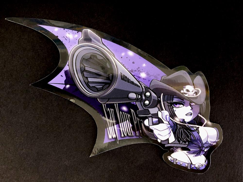 Blackstar(祈れ)ステッカー画像