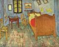 ゴッホ『アルルの寝室』1889シカゴ2