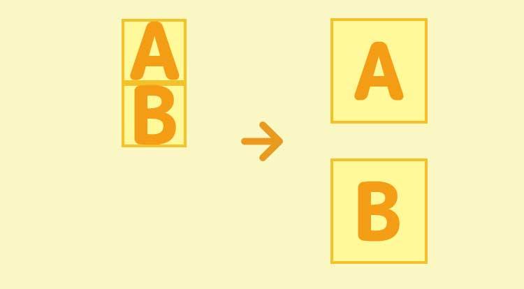 marginとpaddingを使う理由の図