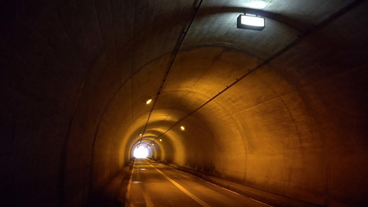小沢トンネルの先は埼玉県飯能市