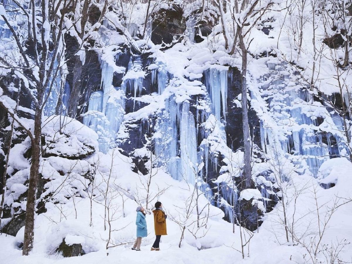 星野リゾート 奥入瀬渓流ホテル 氷瀑