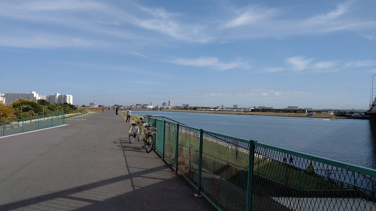舞浜大橋 江戸川サイクリングロード