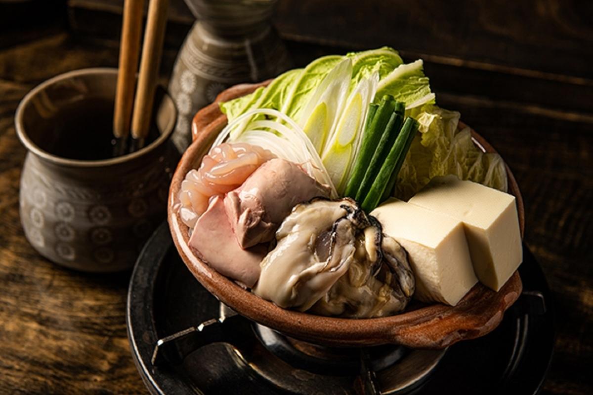 ゆるり屋 渋谷道玄坂 痛風鍋 白子 あん肝 牡蠣