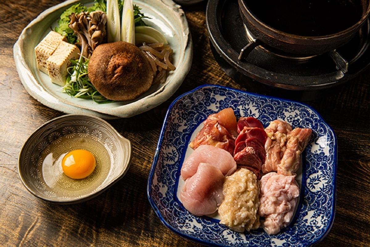 ゆるり屋 渋谷道玄坂 鶏すき鍋