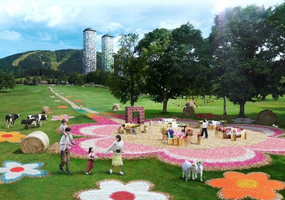 ファームの花咲くリゾナーレ