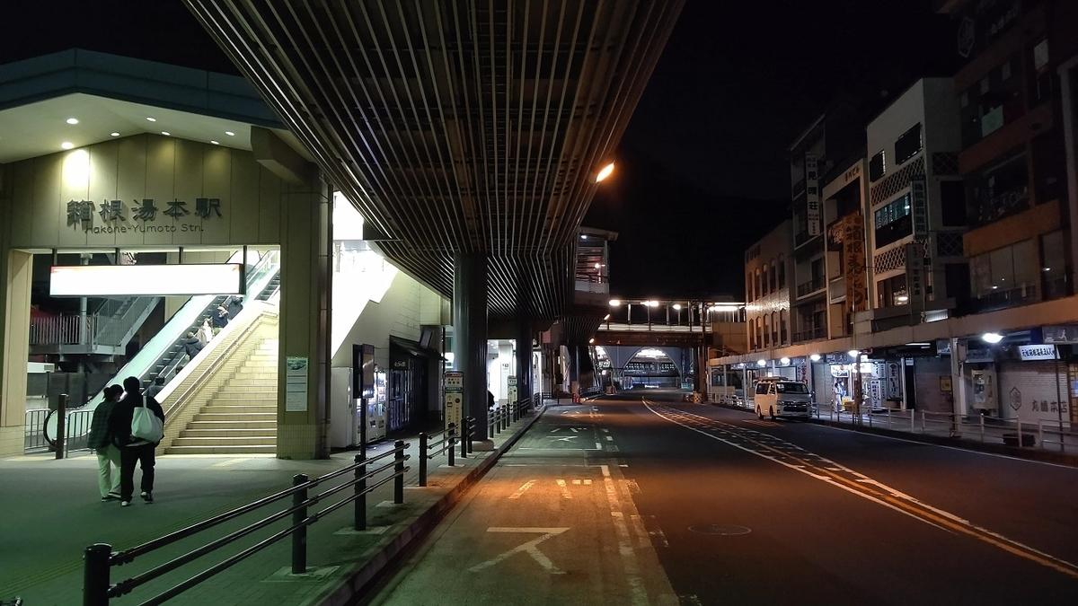 箱根駅伝 往路 5区 箱根湯本駅 6区
