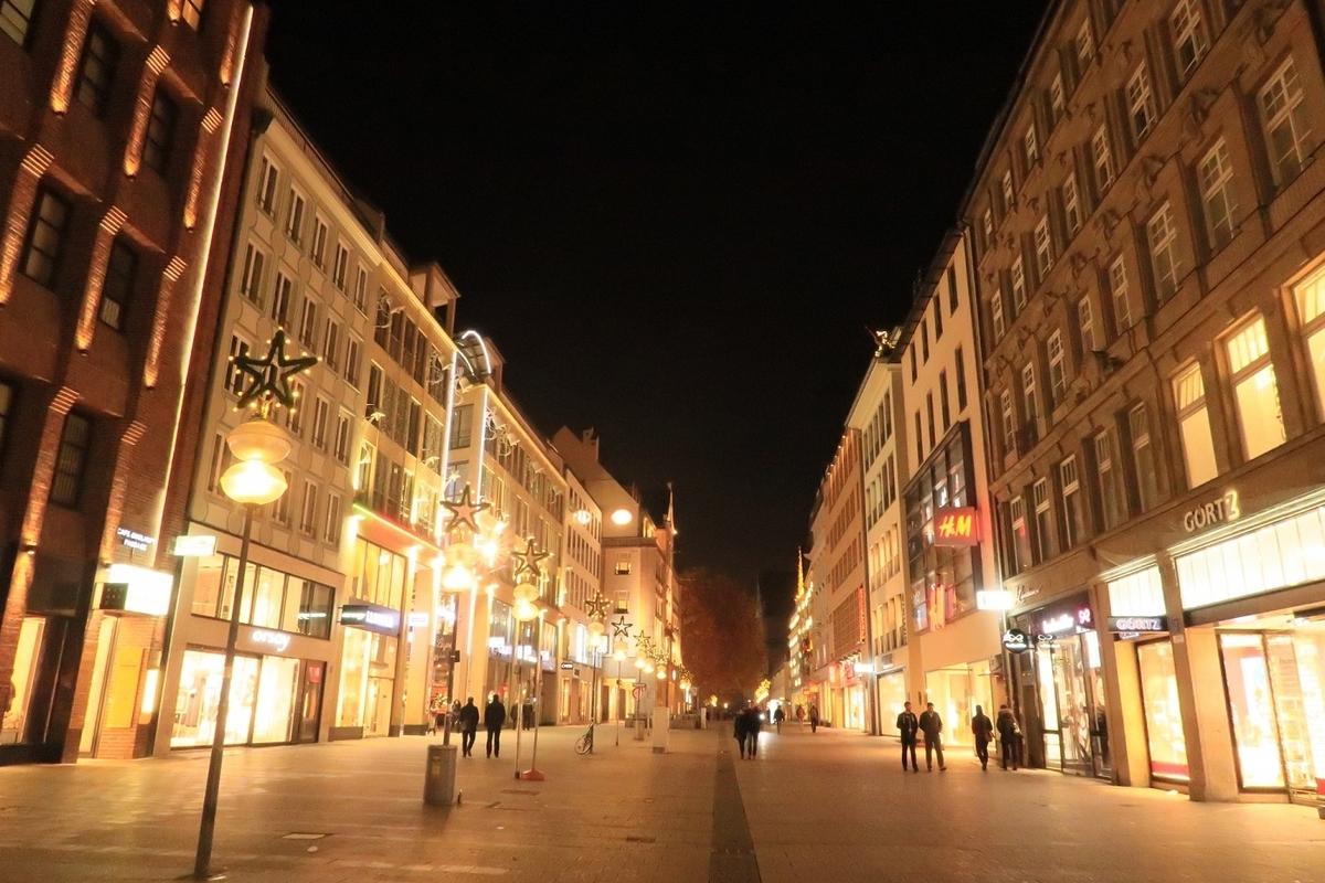 ドイツ ミュンヘン 旧市街地 ノイハウザー通り