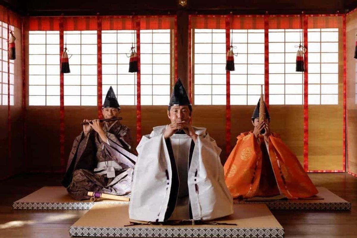 星野リゾート 星のや京都 下鴨神社 雅楽