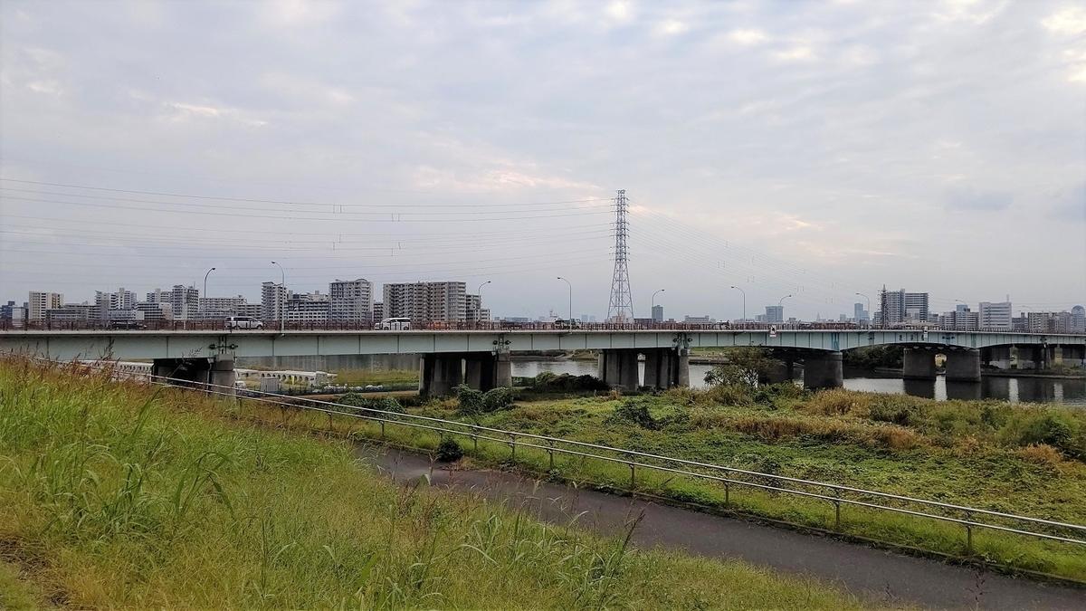 環七 荒川 鹿浜橋