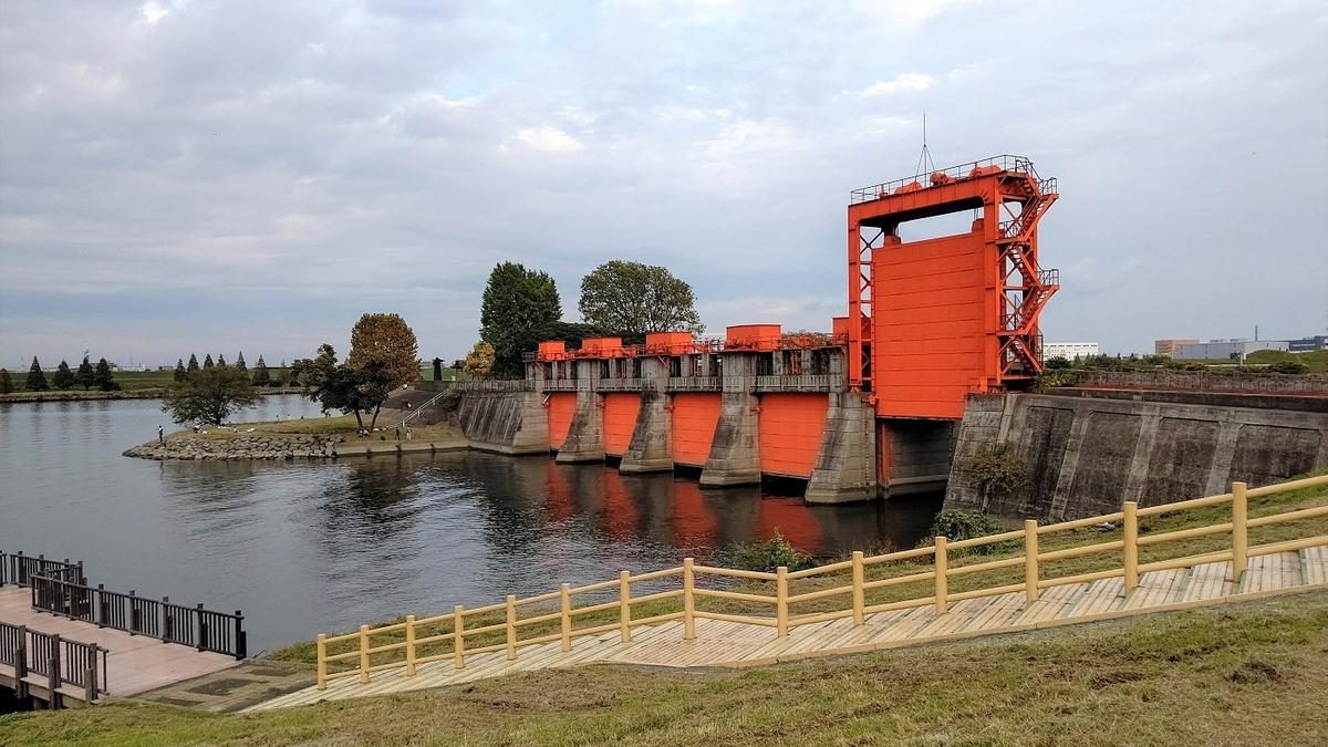 旧岩淵水門 赤水門