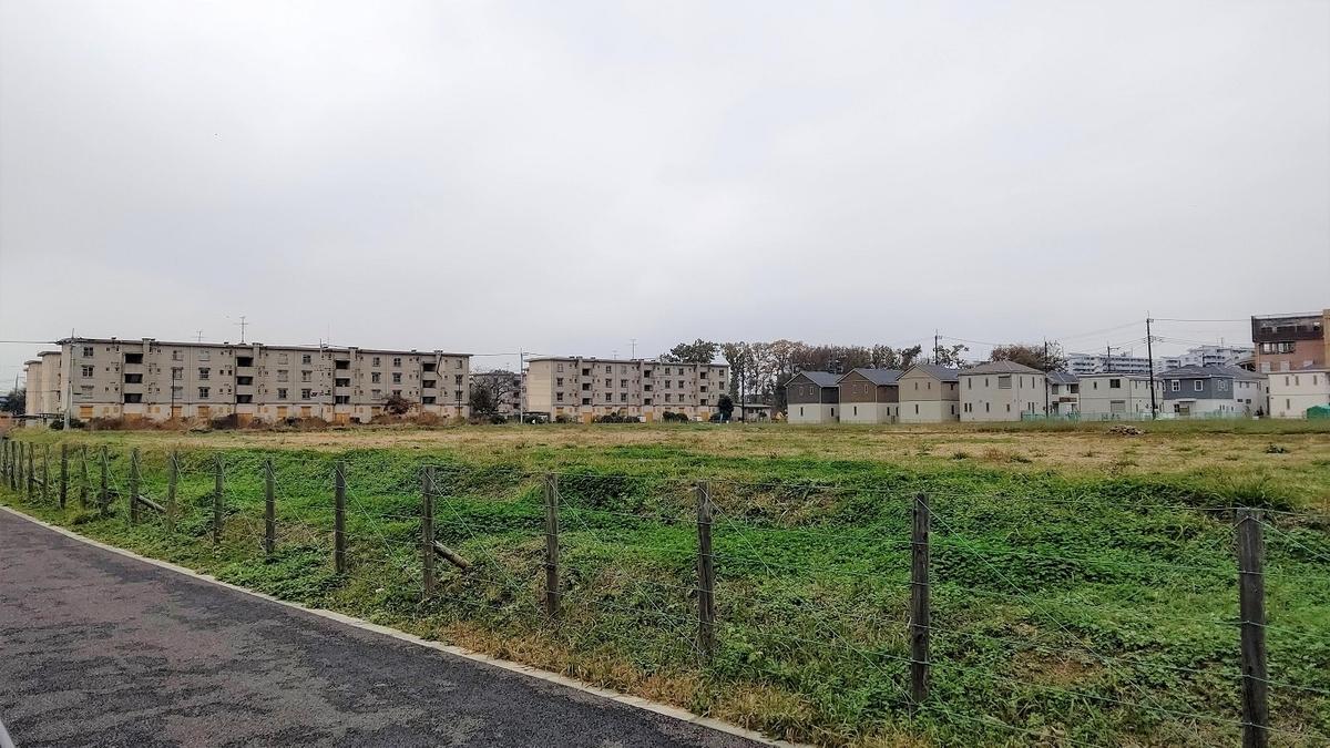 東久留米市 団地 空き地 ゴーストタウン 風景