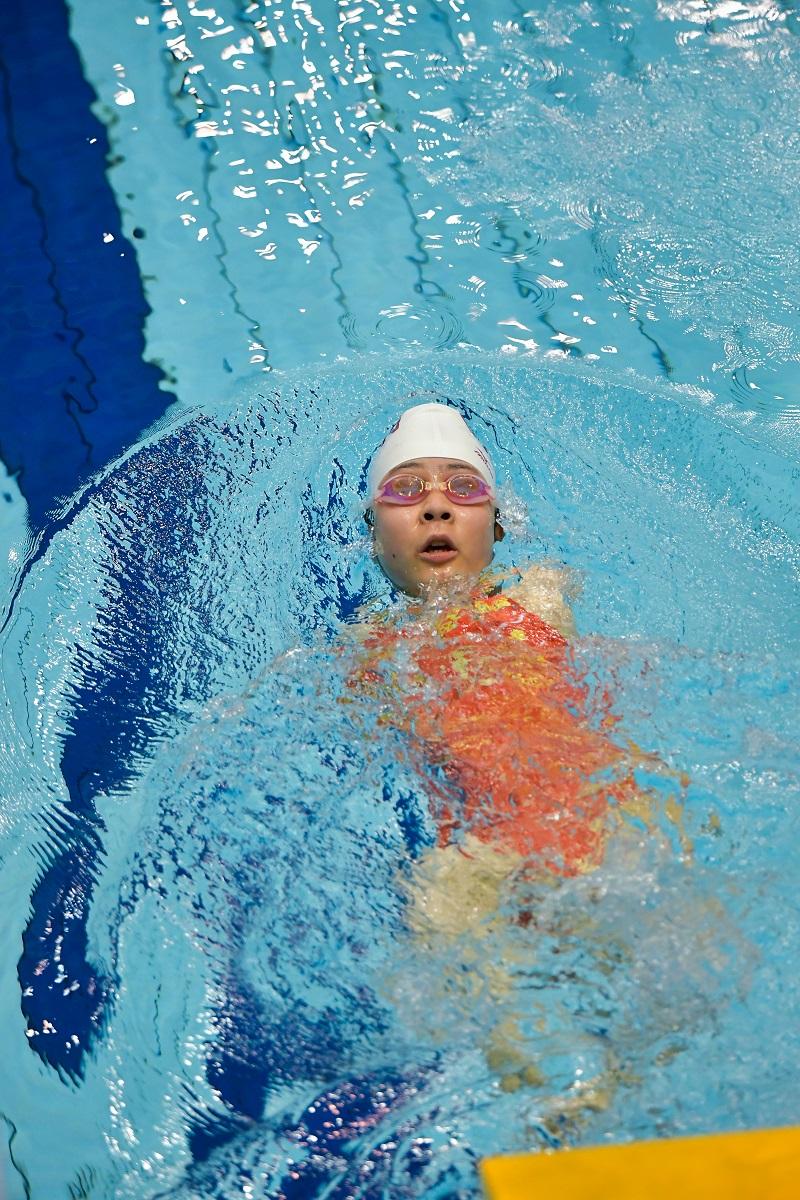 パラ水泳,水泳,パラリンピック,日本選手権,山田美幸,背泳ぎ,日本新,日本新記録
