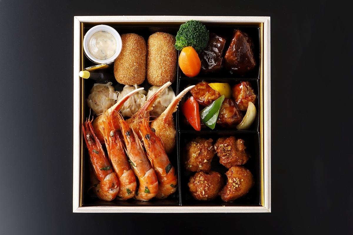 「ニューオータニ祝い重」壱の段~洋食・中華~