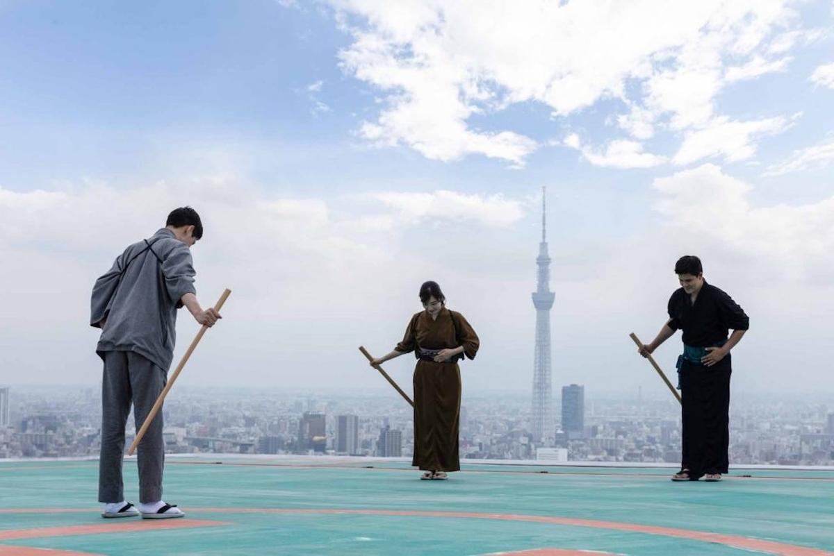 星野リゾート 星のや東京 剣術