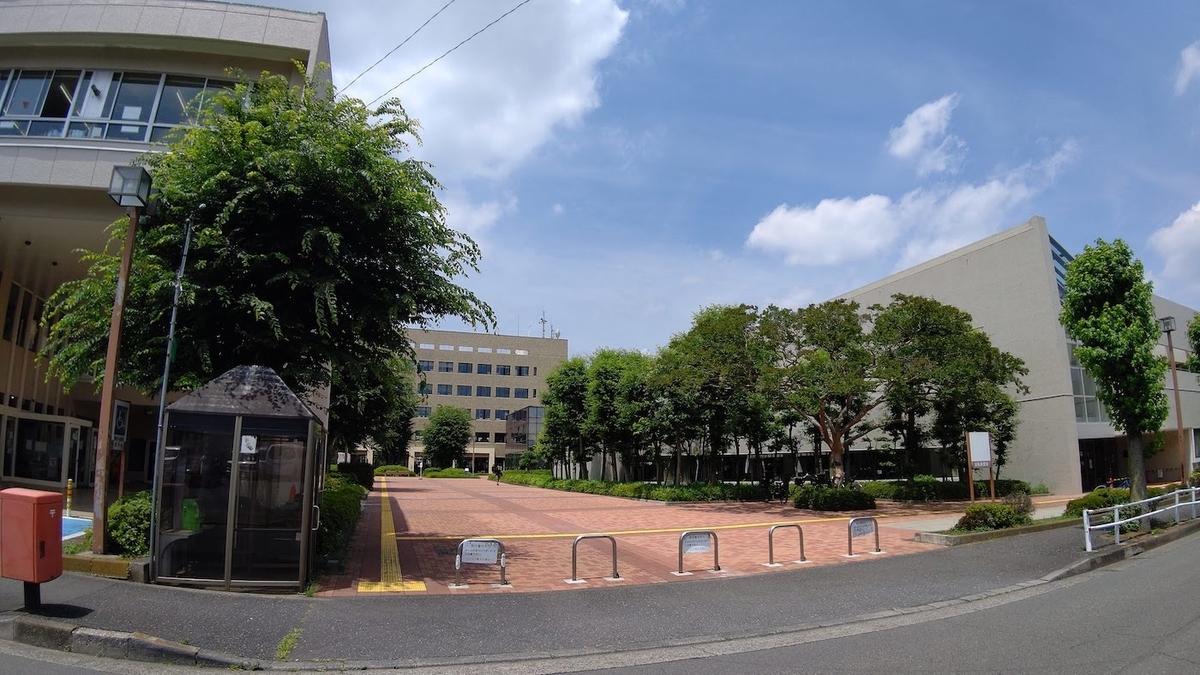 自転車 旅 東京五輪 聖火リレー 5日目 東大和 市役所通り