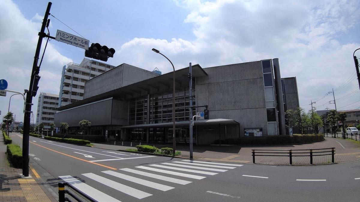 自転車 旅 東京五輪 聖火リレー 5日目 東大和 ハミングホール