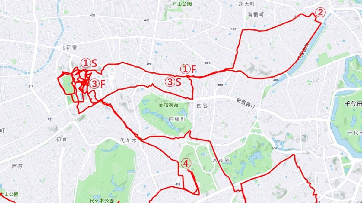 新宿サイクリング