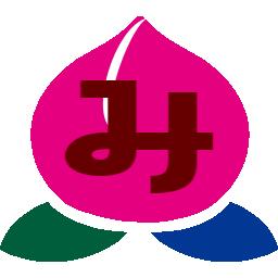 ミモモスティの新ブログアイコンの桃をバーミヤンの桃っぽく変えてみた