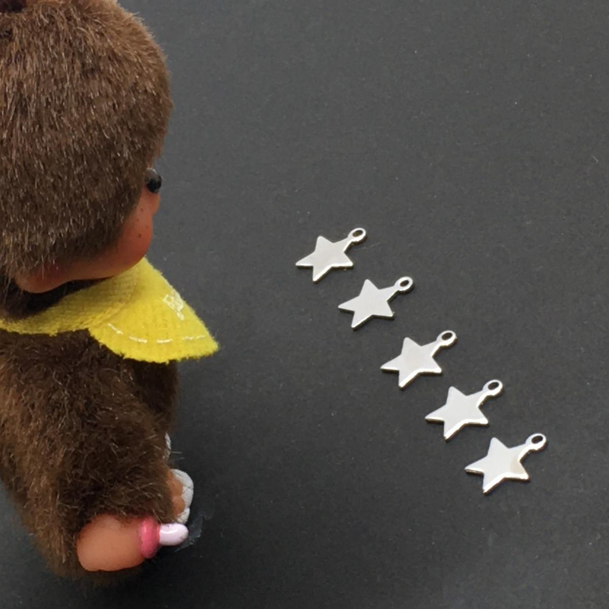 はてなブログのはてなスター星の数を数えるモンチッチ