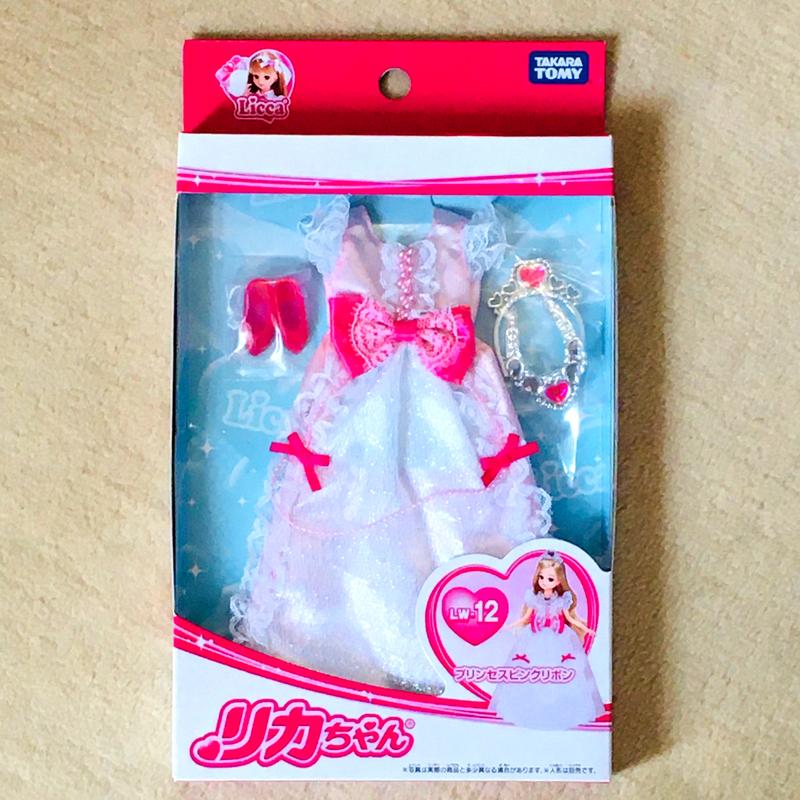 みも母がKちゃんに贈った「プリンセスピンクリボン」のドレスセット