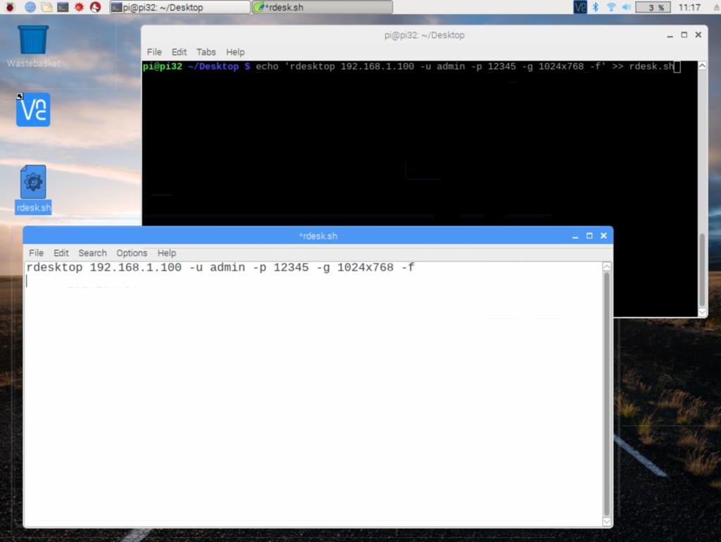 RaspberryPi3 リモートデスクトップでWindowsに接続する - min117の日記