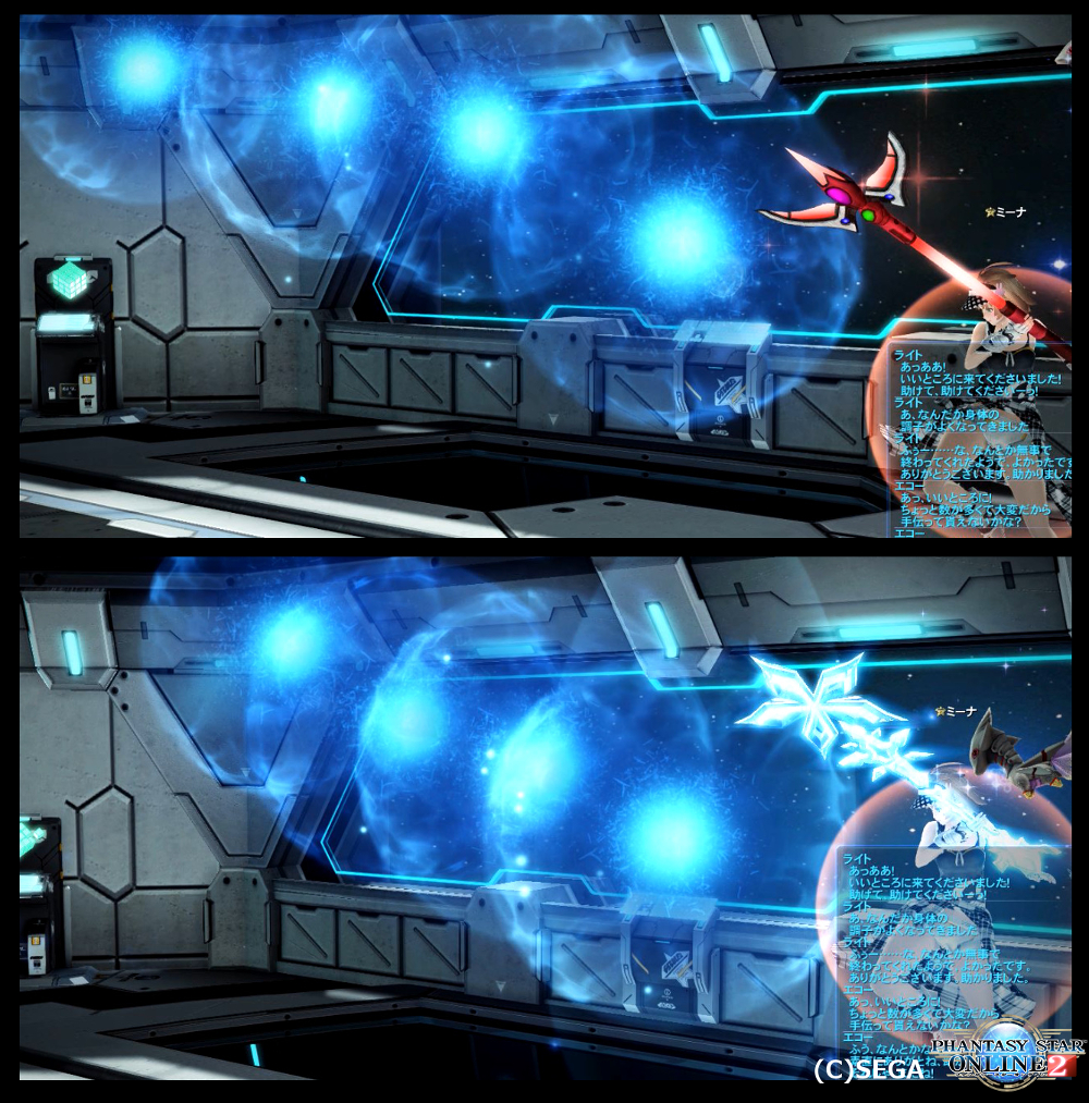 クヴェレネージュアの攻撃速度が分かる比較画像