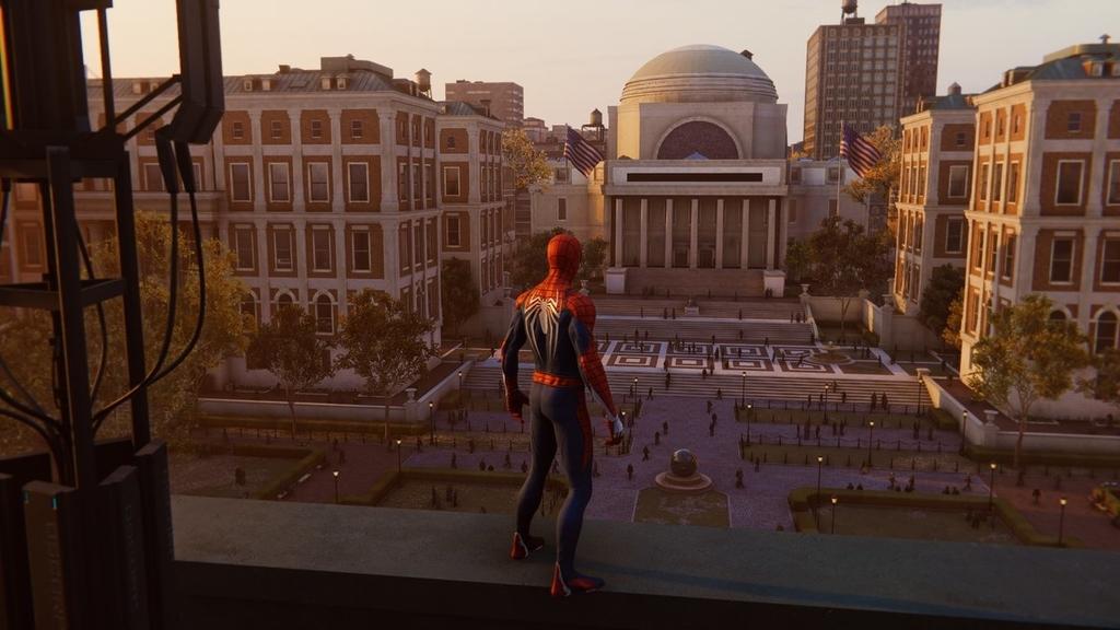 PS4ゲームスパイダーマンで映画のロケ地をめぐるその1