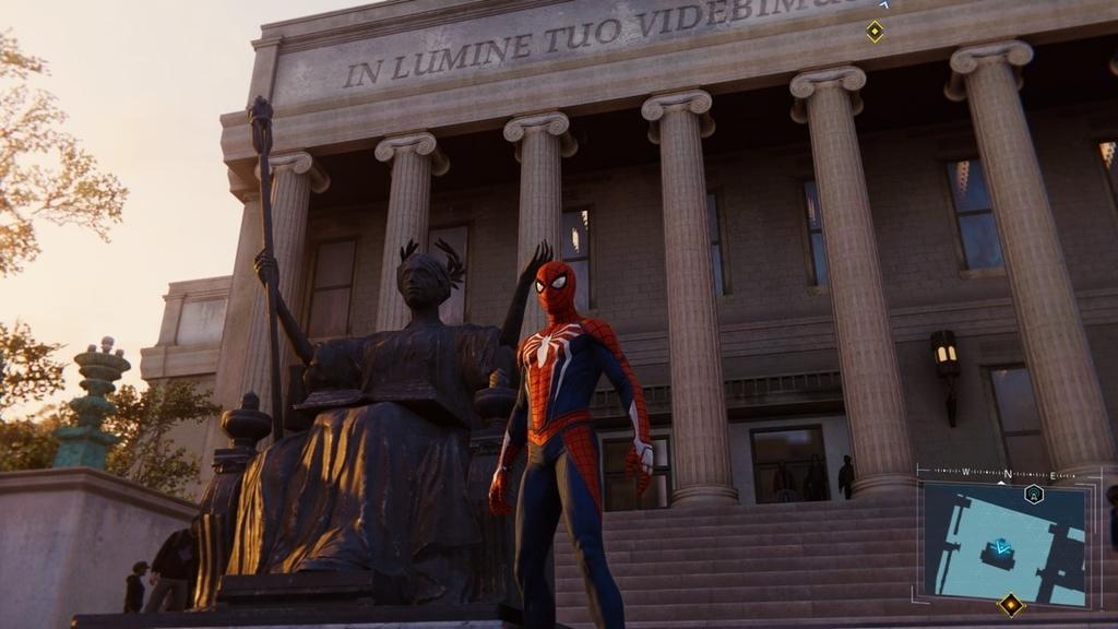 PS4ゲームスパイダーマンで映画のロケ地をめぐるその2