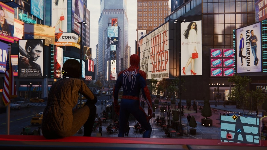 PS4ゲームスパイダーマンで映画のロケ地をめぐるその4