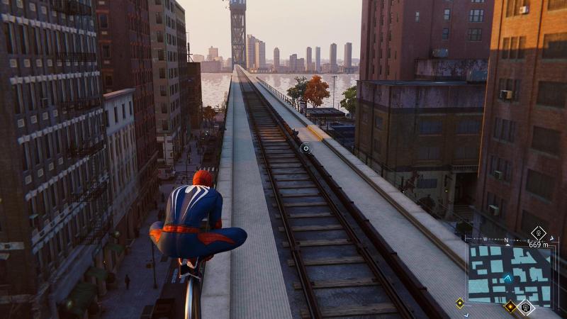 PS4ゲームスパイダーマンで映画のロケ地をめぐるその6