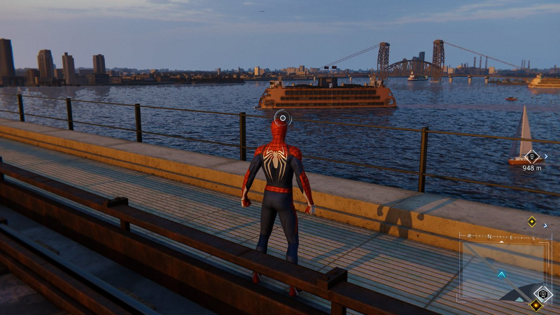 PS4ゲームスパイダーマンで映画のロケ地をめぐるその7