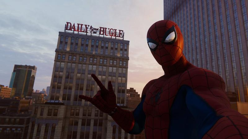PS4ゲームスパイダーマンで映画のロケ地をめぐるその5