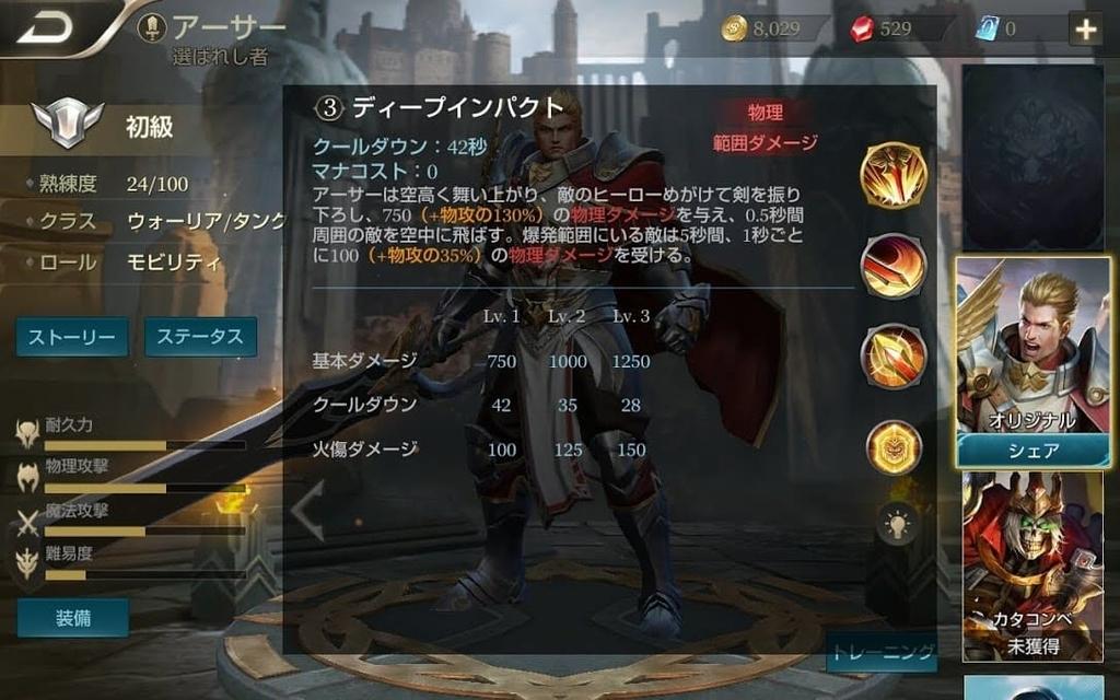【伝説対決】クラス別の全キャラクターランク早見表【Arena of Valor】のアイキャッチ画像