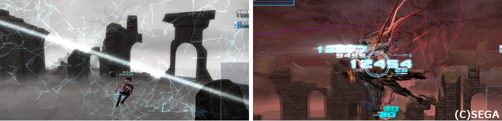 PSO2オメガマスカレーダの攻撃確認画像その3