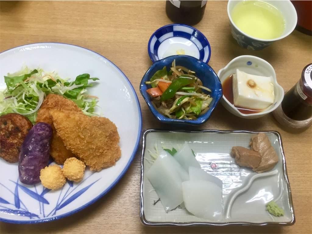 小浜荘 夕食