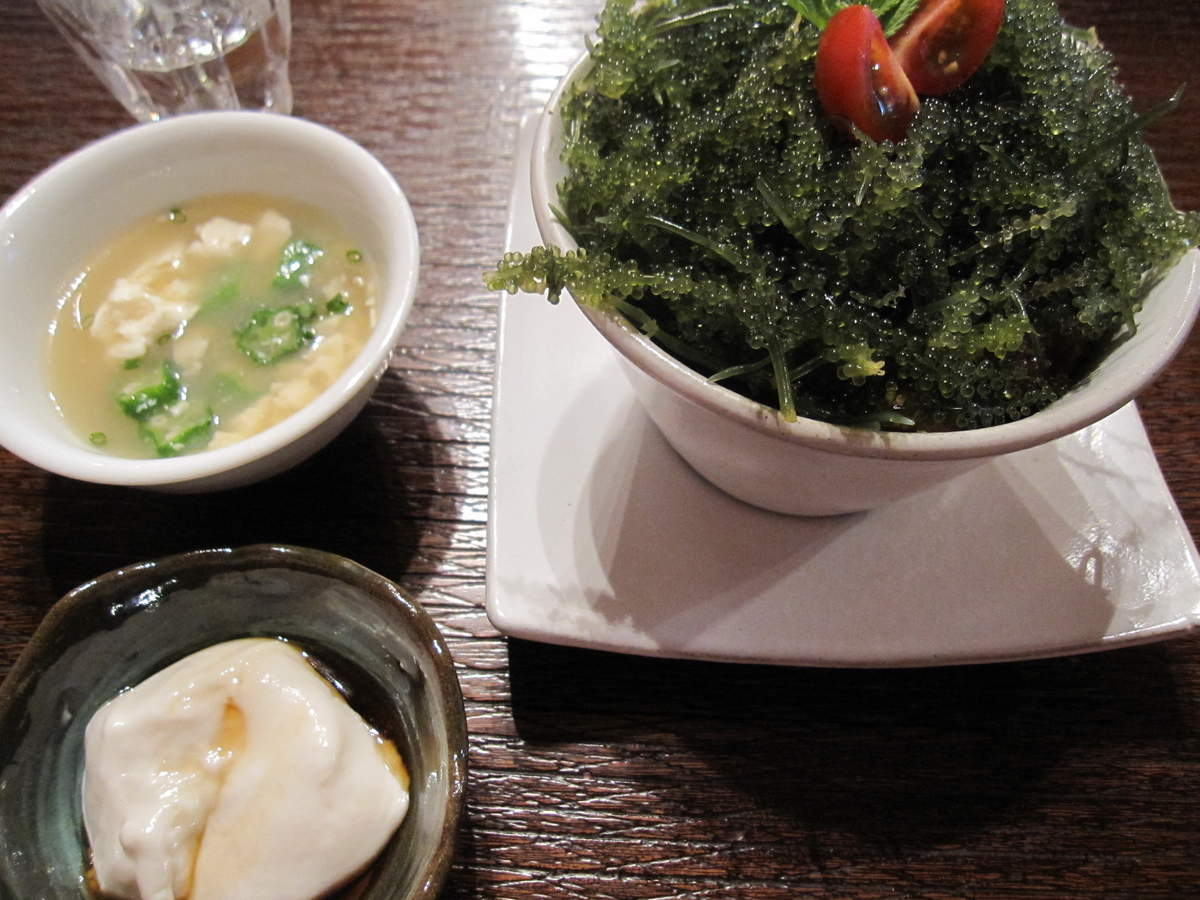 fuu cafe 海ぶどう丼