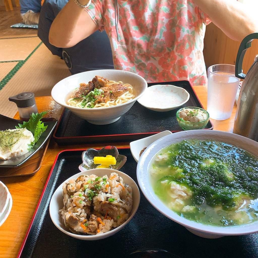 春おばあ食堂 定食 濃厚おぼろ豆腐