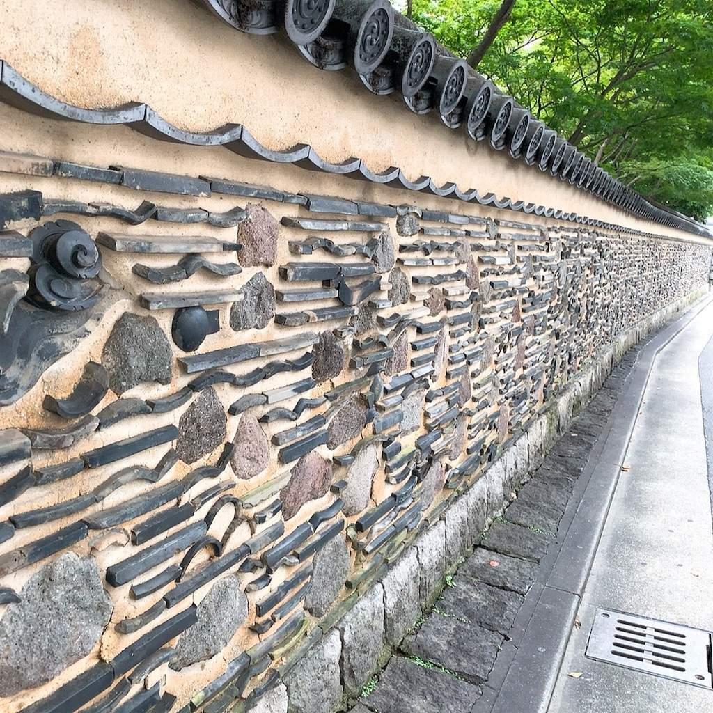 楽水園 博多塀