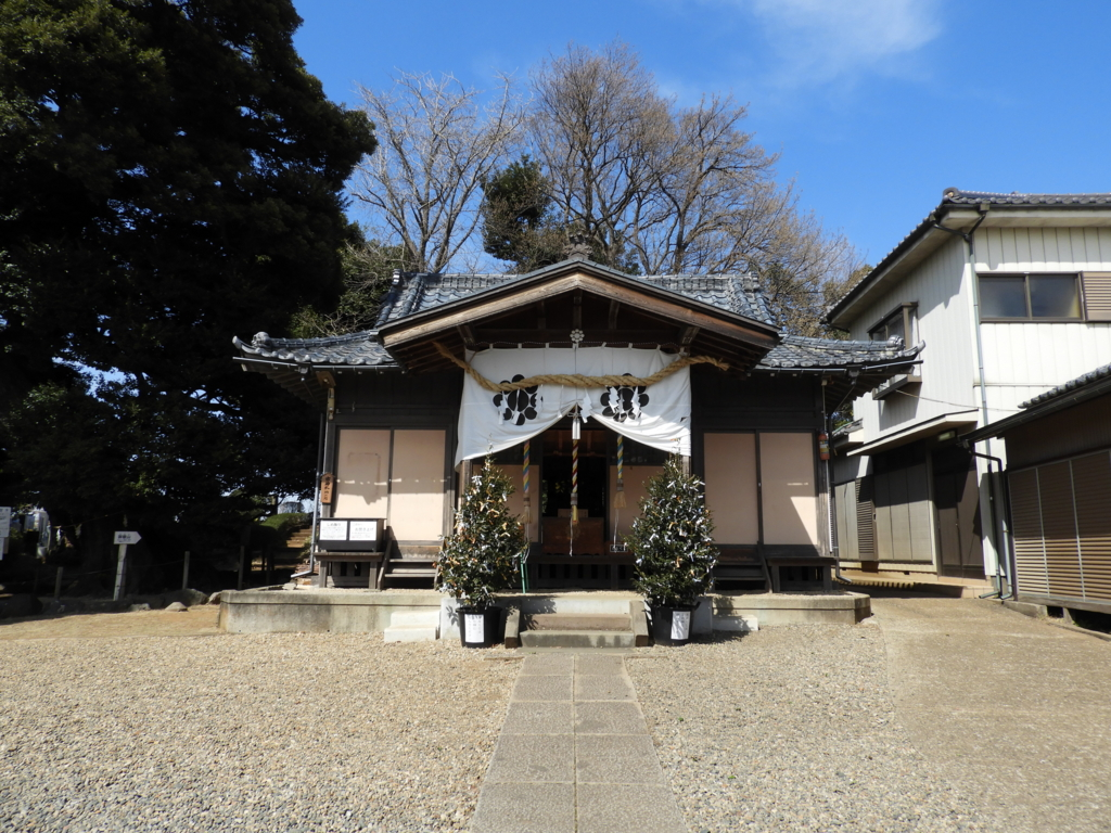 九重神社の拝殿