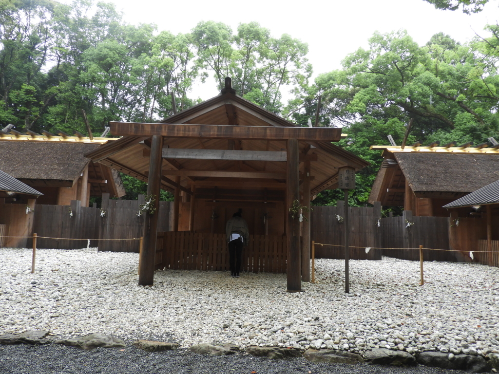 月讀宮の社殿