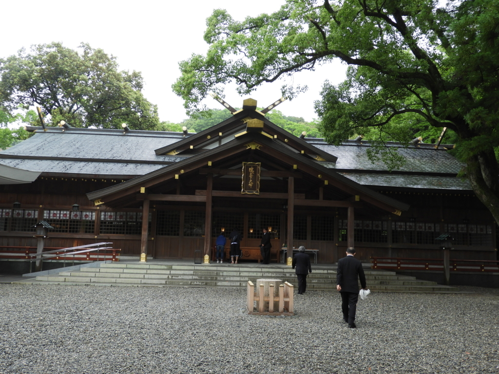 猿田彦神社の拝殿