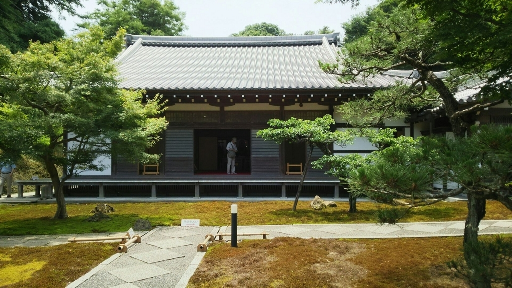 長寿寺の本堂