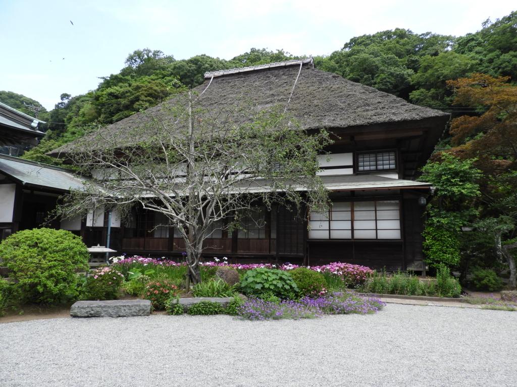 海蔵寺の庫裏