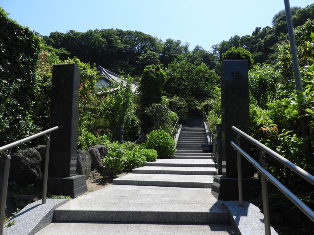 来迎寺の門