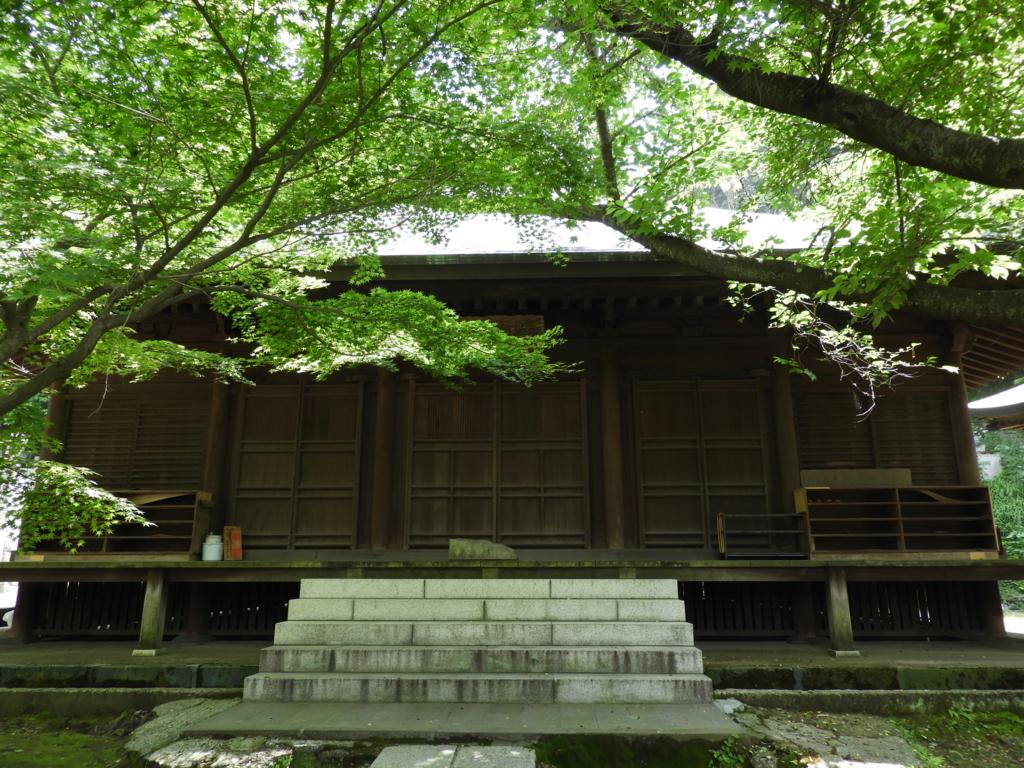 長勝寺の法華堂