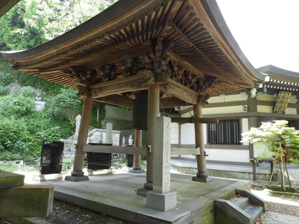 長勝寺の鐘楼