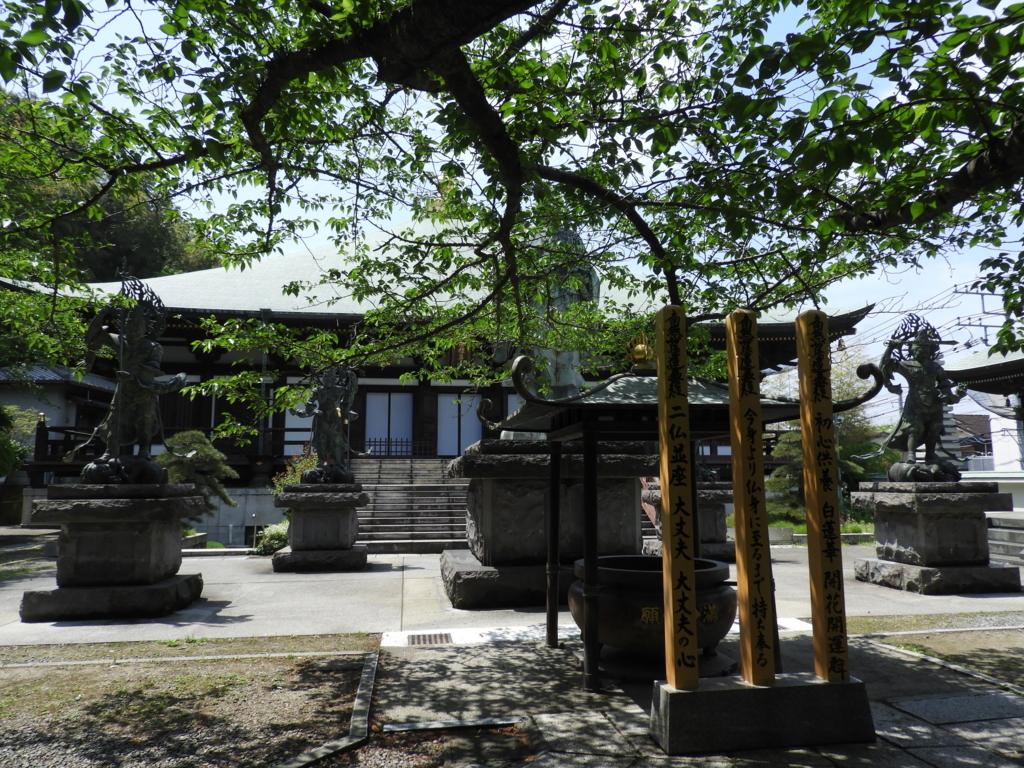 長勝寺の日蓮像