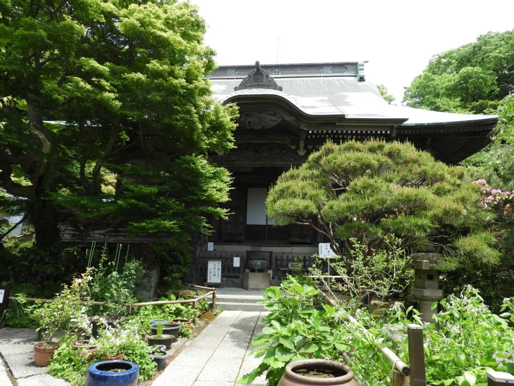 妙法寺の本堂