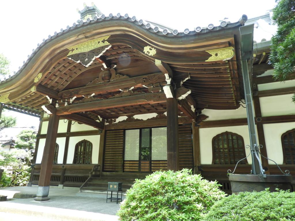 妙本寺の本堂