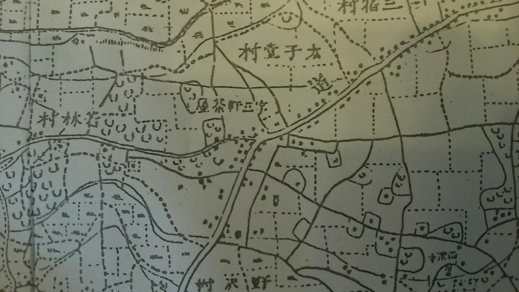 明治14年の地図